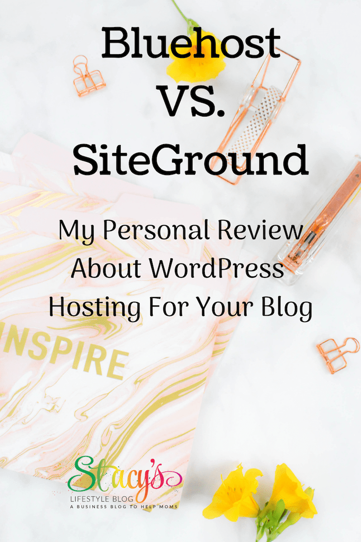 Bluehost vs SIteground
